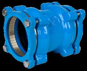 Coupling for PEPVC pipes