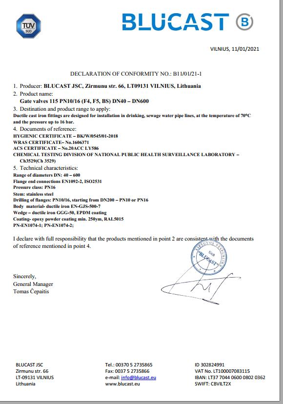 Declaration 115