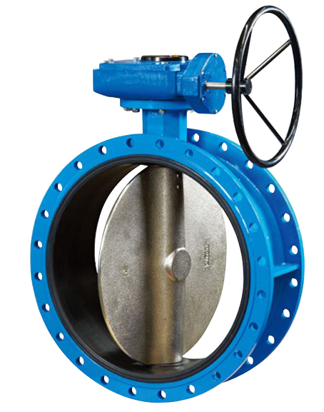 Double Flange Butterfly Valve
