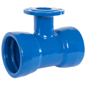 Double Socket Tyton T with Flange bench