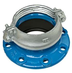 Flanged Adaptor for PEPVC Pipes..