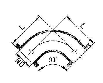LF 90 Bend Drawing
